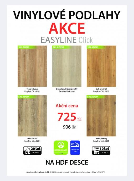 Akce - Ecoline, Easyline, Aquafix