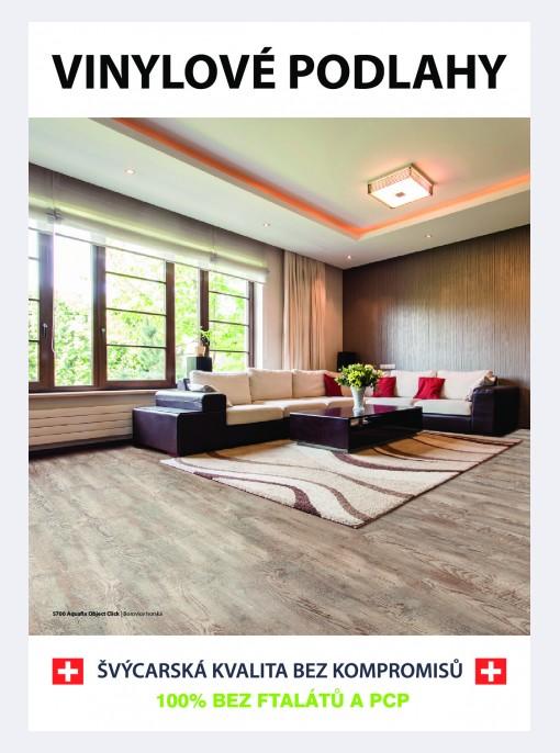 Brožura vinylové plovoucí podlahy