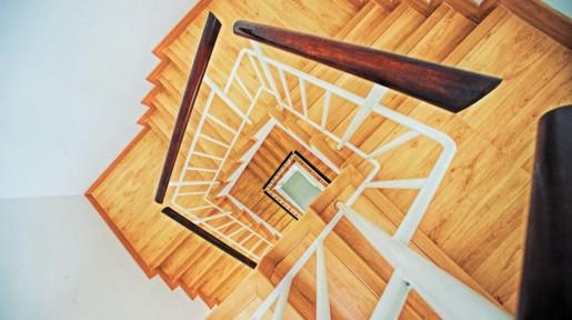 Schodiště a terasy